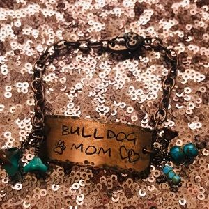 Jewelry - Bulldog Mom Bracelet